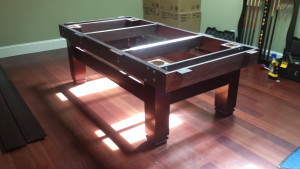 Correctly performing pool table installations, Mansfield Ohio